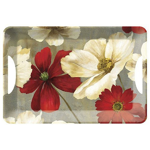 Creative Tops Flower Study Luxury Handled Large Tray