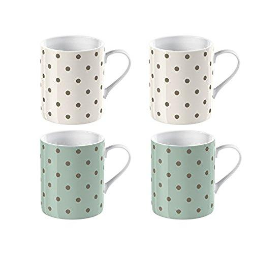 Katie Alice Cottage Flower Porcelain Expresso Cup (Set of 4)