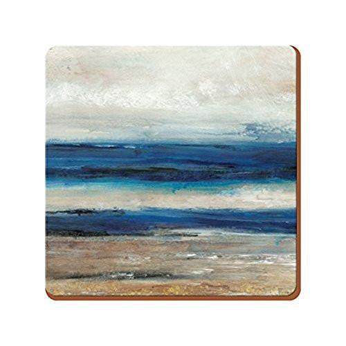 Abstrac Ocean View Coasters (Set of 6)