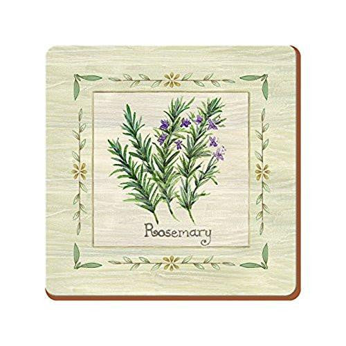 Creative Tops Fresh Herbs Coasters 10.5cm by 10.5cm (Set of 6)