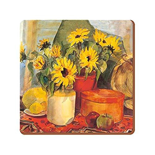 Creative Tops Sunflowers Large Coasters (Set of 4)