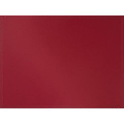 Creative Tops Leather Red Placemat 40cm by 30cm