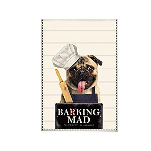 Creative Tops Paper Rose Cotton Barking Mad Tea Towel