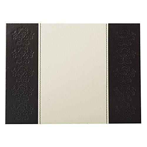Creative Tops Embossed Faux Leather Placemats 29cm by 21.5 cm (Set of 4)