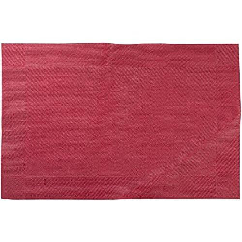 Creative Tops Vinyl Red Placemat 40cm by 30cm