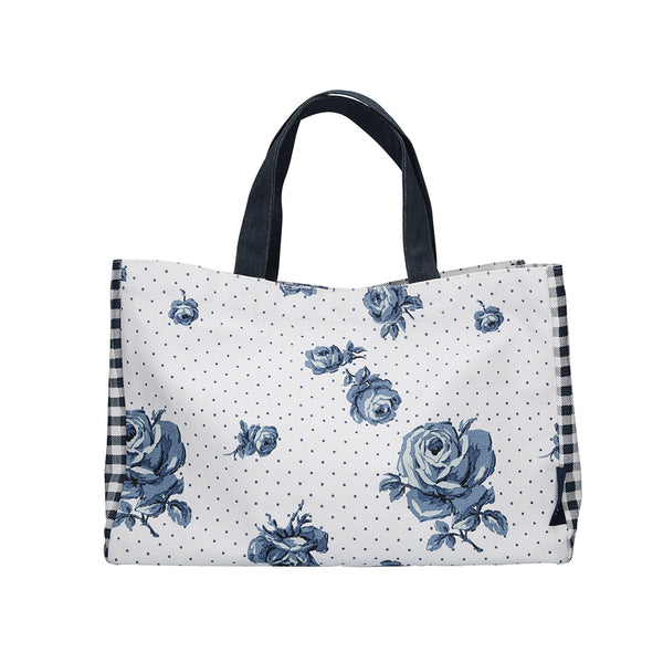 Katie Alice Vintage Indigo Canvas Bag