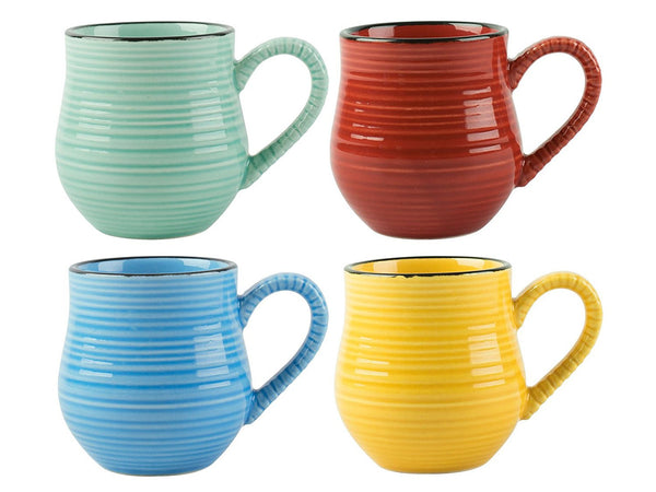 La Cafetiere Brights Colour Espresso Mug (Set of 4)