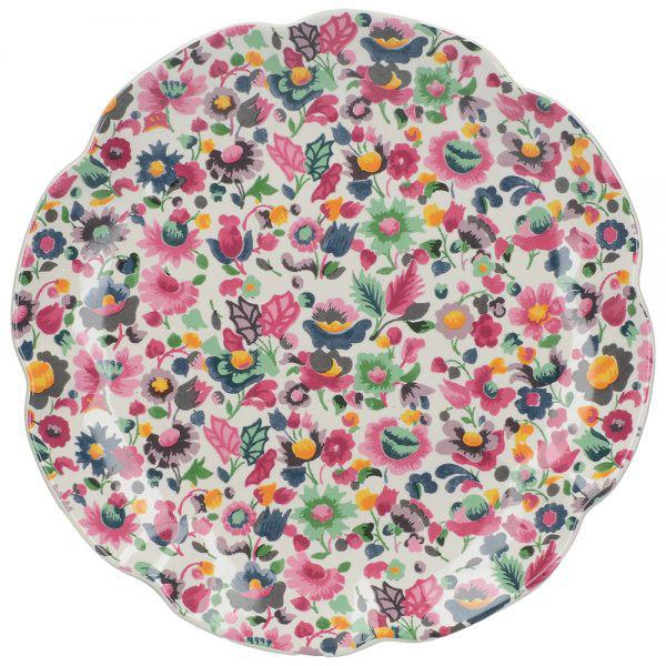 Katie Alice Blooming Fancy All Over Print Side Plate
