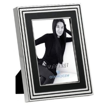 Wedgwood Vera Wang With Love Noir Photo Frame 10cm by 15cm