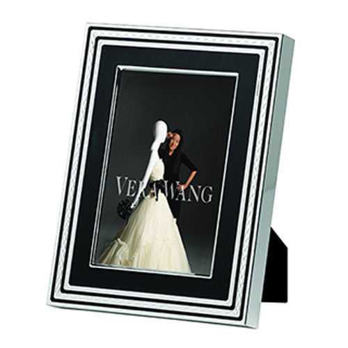 Wedgwood Vera Wang With Love Noir Photo Frame 12.5cm by 17.5cm