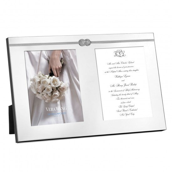 Wedgwood Vera Wang Giftware Infinity Double Invitation Frame