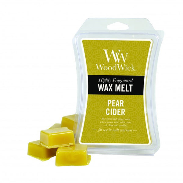 WoodWick Pear Cider Mini Wax Melt