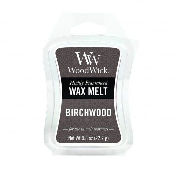 WoodWick Birchwood Mini Wax Melt
