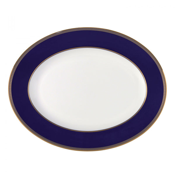 Wedgwood Renaissance Gold Oval Dish 35cm