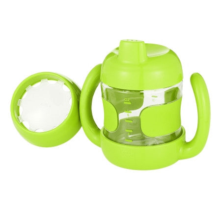 OXO Green Sippy Cup Set
