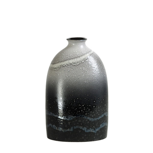 Poole Pottery Aura Medium Oval Bottle Vase 23cm