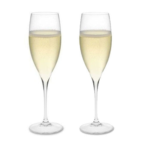 Grape @ Riedel Champagne Glass (Pair)