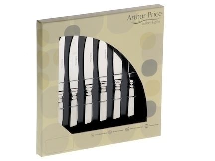 Arthur Price Classic Harley Box of 6 Steak Knives
