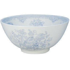 Burleigh Blue Asiatic Pheasant Large Footed Bowl 28cm