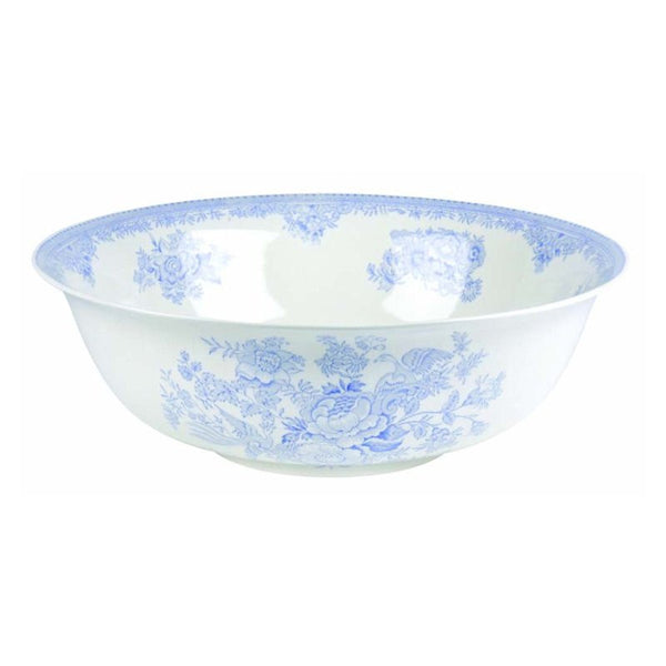 Burleigh Blue Asiatic Pheasant Serving Bowl 30cm