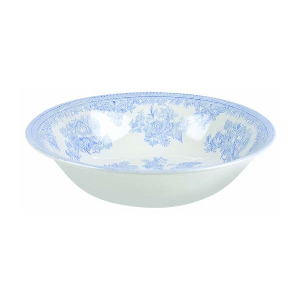 Burleigh Blue Asiatic Pheasant Soup Bowl 20.5cm