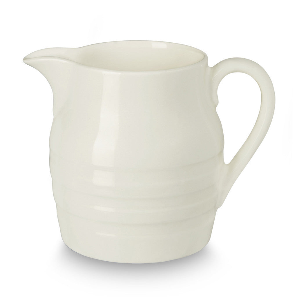 Burleigh Natural White Hooped Churn Jug 0.56L