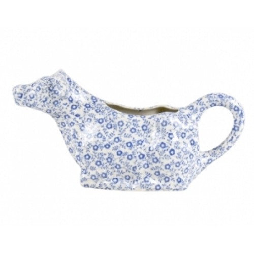 Burleigh Blue Felicity Cow Creamer 200ml