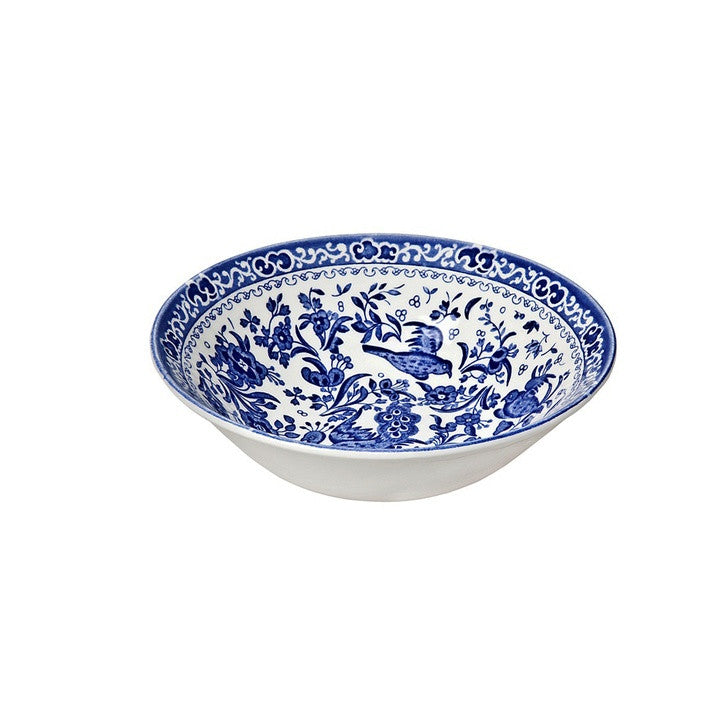 Burleigh Blue Regal Peacock Cereal Bowl 16cm