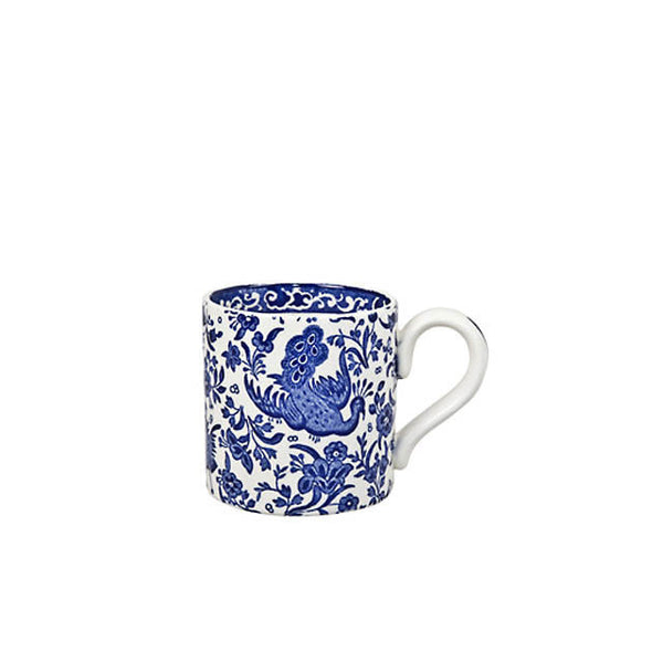 Burleigh Blue Regal Peacock Mug 0.30L