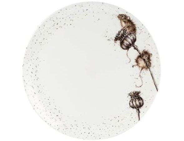 Royal Worcester Wrendale Mouse Dinner Plate