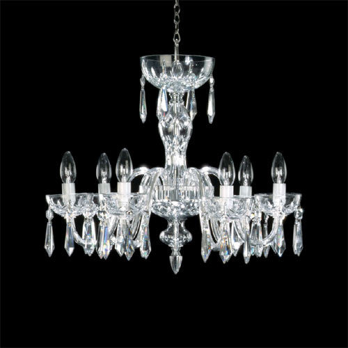 Waterford Crystal 6 Arm 240V Chandelier 46cm
