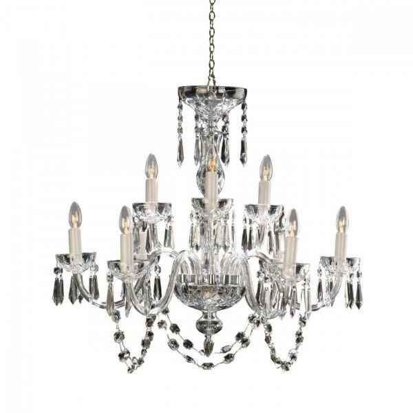 Waterford Crystal Lismore 9 Arm Chandelier 240 V