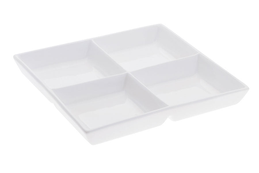 Maxwell and Williams White Basics Square H'ors D'oeuvre 30cm