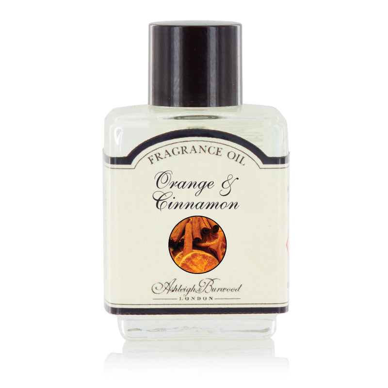 Ashleigh and Burwood Orange & Cinnamon Fragrance Oil 0.01L