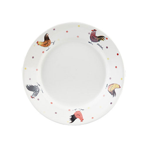 Alex Clark Rooster Pasta Plate 28.5cm