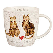 Alex Clark Tremendous Tabbies Mug 0.40L