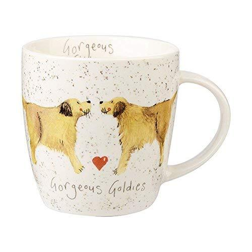 Alex Clark Delight Dog Golden Goldies Mug 0.40L