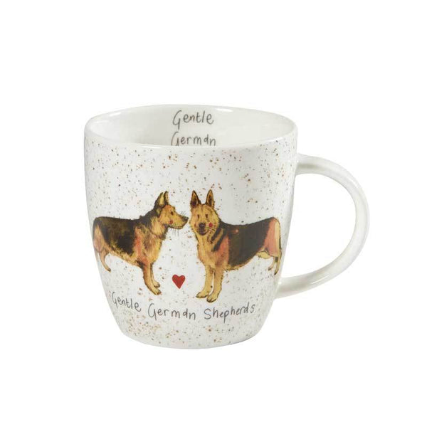 Alex Clark Squash German Shepherds Mug 0.40L