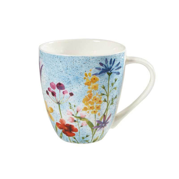Churchill China Aquarelle Crush Bouquet Mug 0.50L