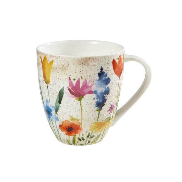 Churchill China Aquarelle Crush Bloom Mug 0.50L