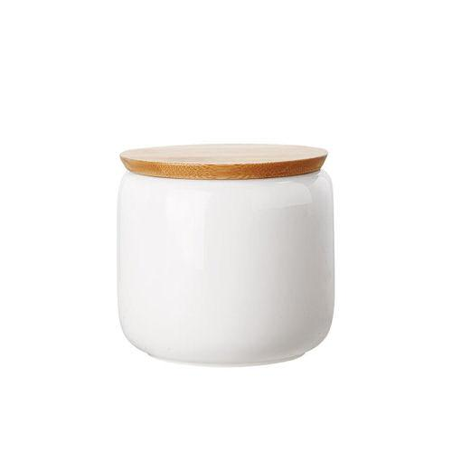 Maxwell and Williams White Basics Canister with Lid 0.75L