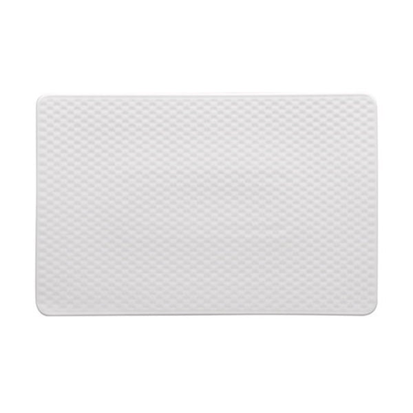 Maxwell and Williams White Basics Contour Rectangular Platter 25.5cm by 16.5cm