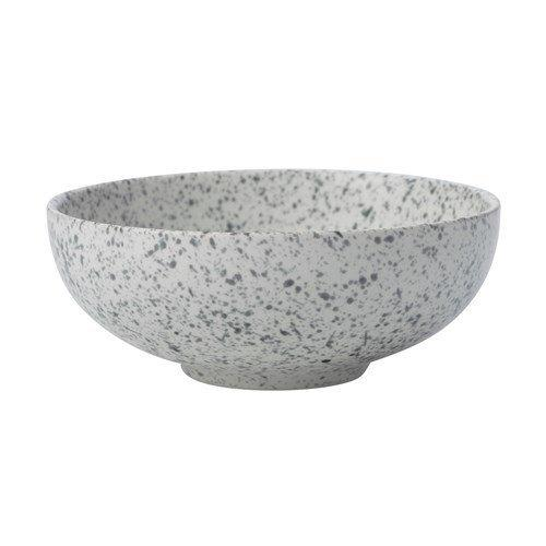 Maxwell and Williams Caviar Speckle Cream Coupe Bowl 15.5 by 6cm