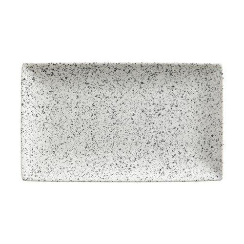 Maxwell and Williams Caviar Speckle Cream Rectangle Platter 27.5 by 16cm