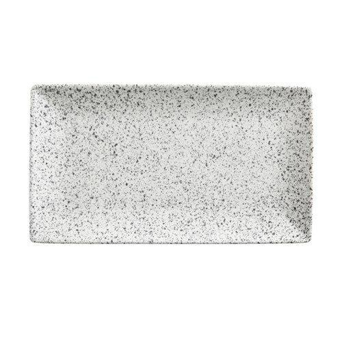 Maxwell and Williams Caviar Speckle Cream Rectangle Platter 34.5 by 19.5cm