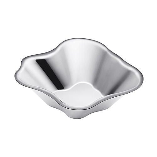 Iittala Aalto Stainless Steel Bowl 5cm By 18cm