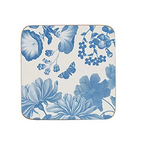 Churchill China Butterflies And Blooms Coaster 10 by 10cm (Set of 6)