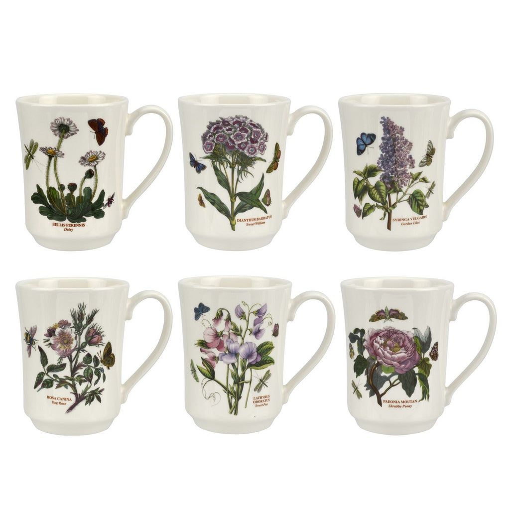 Portmeirion Botanic Garden Flared Tankard 0.39L (Assorted Design)
