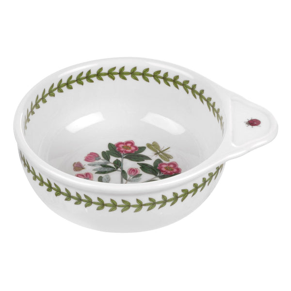 Portmeirion Botanic Garden Round Baking Dish with Single Handle 16cm by 14cm
