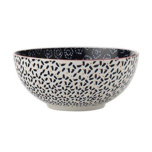 Maxwell and Williams Boho Navy Shibori Cereal Bowl 18cm